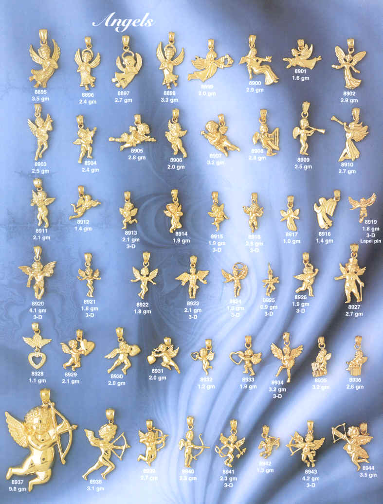 About Our 14 Kt Gold Angels 14 Kt Gold Angel Pins 14 Kt